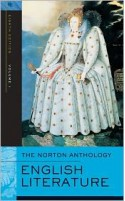 The Norton Anthology of English Literature, Vol 1: The Middle Ages through the Restoration & the Eighteenth Century - Stephen Greenblatt, M.H. Abrams, Stephen Greenblatt, M.H. Abrams
