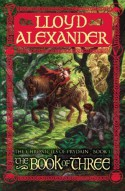 The Book of Three (Chronicles of Prydain, Book 1) - Lloyd Alexander, James Langton