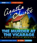 The Murder at the Vicarage (Audiocd) - James Saxon, Agatha Christie