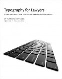 Typography for Lawyers - Matthew Butterick