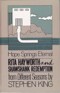 Rita Hayworth and Shawshank Redemption: A Story from Different Seasons - Stephen King