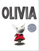 Olivia (Board Book) - Ian Falconer
