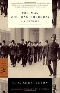 The Man Who Was Thursday - G.K. Chesterton
