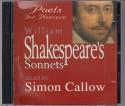 William Shakespeare's Sonnets: Poets for Pleasure - Simon Callow, William Shakespeare