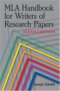 MLA Handbook for Writers of Research Papers - Joseph Gibaldi, Phyllis Franklin