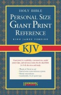 Holy Bible: King James Version, Personal Size Giant Print Reference Bible - Anonymous