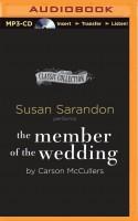 The Member of the Wedding - Susan Sarandon, Carson McCullers