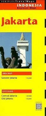 Jakarta Travel Map 1st Edition - Periplus Editors, Christian Kallen, Periplus Editors