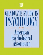 Graduate Study in Psychology 2013 - American Psychological Association