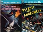 The Plot Against Earth / Recruit for Andromeda - Robert Silverberg, Calvin M. Knox, Milton Lesser