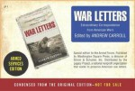 War Letters Armed Forces Edition - Andrew Carroll