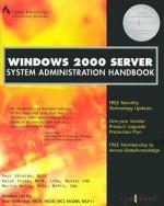 Windows 2000 Server System Administration Handbook - Syngress Media Inc, Martin Weiss, Paul Shields, Ralph Crump