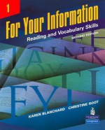 For Your Information: Reading and Vocabulary Skills, DVD (Levels 1 and 2) - Karen Blanchard, Christine Root
