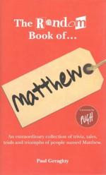 The Random Book of... Matthew - Paul Geraghty, Jonathan Pugh