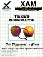 TExES Mathematics 8-12 135 - Sharon Wynne