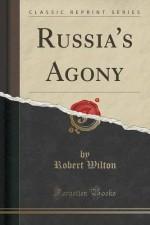 Russia's Agony (Classic Reprint) - Robert Wilton