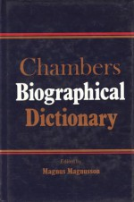 Chambers Biographical Dictionary - Magnus Magnusson