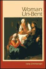Woman Un-Bent - Irene Zimmerman