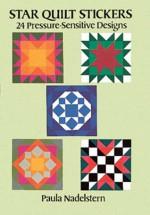 Star Quilt Stickers: 24 Pressure-Sensitive Designs - Paula Nadelstern