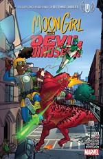 Moon Girl and Devil Dinosaur (2015-) #9 - Natacha Bustos, Brandon Montclare, Amy Reeder, Amy Reeder