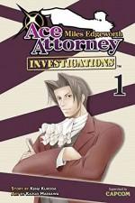[Miles Edgeworth: Ace Attorney Investigations 1] (By: Kenji Kuroda) [published: July, 2012] - Kenji Kuroda