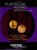 Heritage Platinum Night Signature Auction #392 - Mark Van Winkle, James L. Halperin, Jon Amato