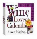 NOT A BOOK The Wine Lover's Page-A-Day Calendar 2008 - NOT A BOOK