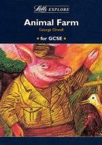 """Letts Explore """"Animal Farm"""" (Letts Literature Guide) - Stewart Martin, John Mahoney"""