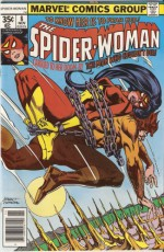 SPIDER-WOMAN #8 (the MAN WHO COULD NOT DIE!, VOL. 1) - MARV WOLFMAN, MARV WOLFMAN