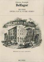 Belfagor: Vocal Score - Ottorino Respighi