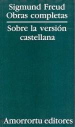 Obras completas. Sobre la versión castellana - José Luis Etcheverry