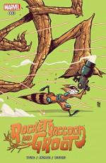 Rocket Raccoon and Groot (2016-) #3 - Filipe Andrade, Skottie Young, Skottie Young