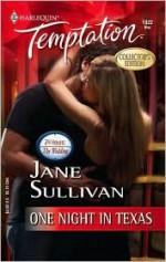 One Night in Texas - Jane Sullivan