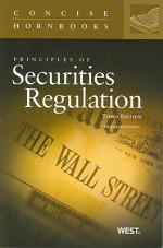 Principles of Securities Regulation, 3d The Concise Hornbook Series - Thomas Lee Hazen