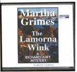 The Lamorna Wink : A Richard Jury Mystery [Unabridged CDs] - Martha Grimes, Donada Peters