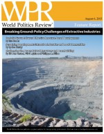 Breaking Ground: Policy Challenges of Extractive Industries (World Politics Review Features) - Lisa Sachs, Lyuba Zarsky, Siri Aas Rustad, Päivi Lujala, Philippe Le Billon, World Politics Review