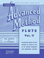 Rubank Advanced Method: Flute, Vol. II - William Gowe