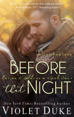 Before That Night: Book 1, Caine & Addison - Violet Duke