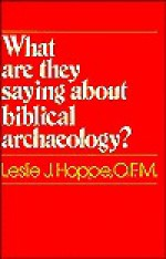 What Are They Saying about Biblical Archaeology? - Leslie J. Hoppe
