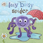 Finger Puppet Book: The Itsy Bitsy Spider (Little Learners) - Parragon Books