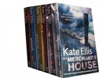Kate Ellis collection 6 books set. (The merchant's house, the bone Garden, the marriage Hearse, the blood pit, a cursed Inheritance and the shining skull) - Kate Ellis