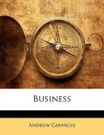 Business - Andrew Carnegie