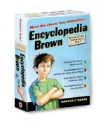 Encyclopedia Brown Box Set (4 Books) - Donald J. Sobol