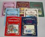 Great Fairy Tale Classics set of 7: The Story of Cinderella and Other Tales; Little Red Riding Hood; The Three Little Pigs; Snow White and the Seven Dwarfs; The Tin Soldier; Puss In Boots; The Hare and the Tortoise (Great Fairy Tale Classics) - Peter Holeinone, Tony Wolf, Piero Cattaneo