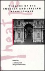 Theatre of the English and Italian Renaissance - J.R. Mulryne