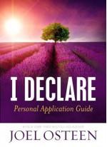 I Declare Personal Application Guide - Joel Osteen
