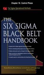 The Six SIGMA Black Belt Handbook, Chapter 16 - Control Phase - Thomas McCarty, Kathleen Mills, Michael Bremer, John Heisey, Praveen Gupta, Lorraine Daniels