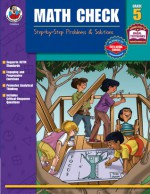 Math Check, Grade 5: Step-by-Step Problems & Solutions - Frank Schaffer Publications, Frank Schaffer Publications