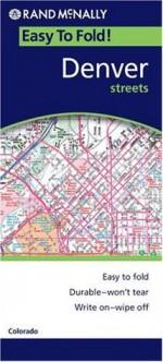 Easy Finder Map Denver Co - Rand McNally