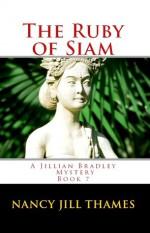 The Ruby of Siam (A Jillian Bradley Mystery, #7) - Nancy Jill Thames